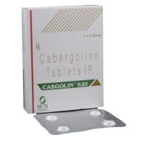 CABGOLIN 0.25MG (CABERGOLINE)