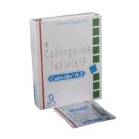 CABGOLIN 0.50MG (CABERGOLINE)