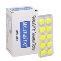Malegra DXT 130 (Sildenafil 100mg+Duloxetine 30mg)