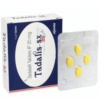 TADALIS SX 20MG (TADALAFIL HCL)